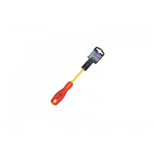 Мастак 041-01080Е Отвертка с крестовым шлицем диэлектрическая PH1х80мм