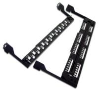 Поддерживающая скоба для патч-панелей LAN-PPL24Uхх, металл LAN-PPL24-CMB