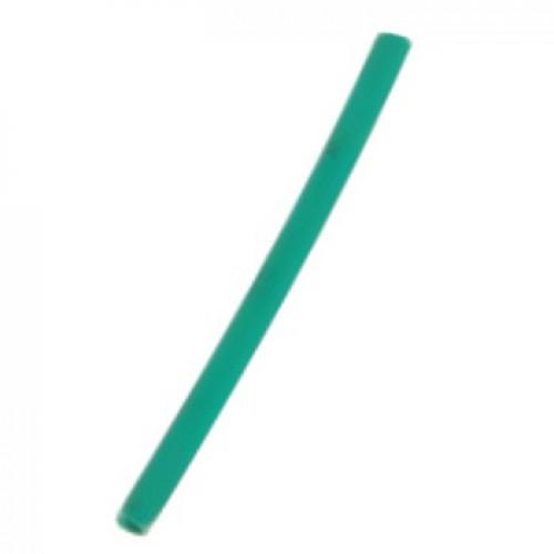 Трубка термоусаживаемая ТУТнг-(2:1)-12/6мм, зелёная, не горючая, КВТ