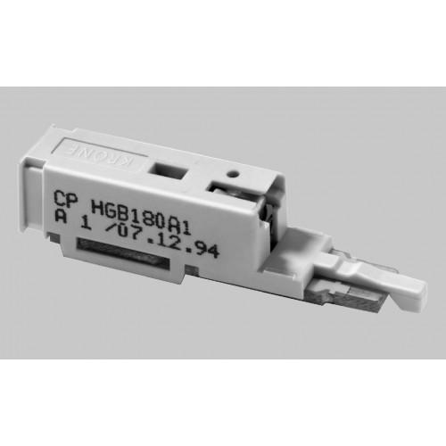 Штекер комплексной защиты для 1 пары ComProtect 2/1 СР HGВ 180А1-S1 (1 комплект = 10 шт.+ 1 шина заз
