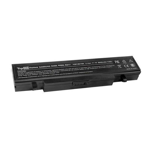 Аккумулятор для ноутбука Samsung R418, R425, R470, R480, R505, R507, R525, R730, RV410 Series. 11.1V 6600mAh 73Wh, усиленный. PN: AA-PB9NS6B, PB9NC6W.