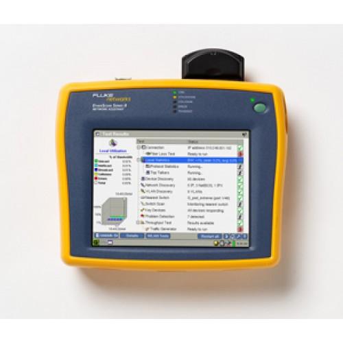 Анализатор EtherScope Series II Network Assistant с возможностью анализа 802.3 LAN и 802.11a/b/g WLA