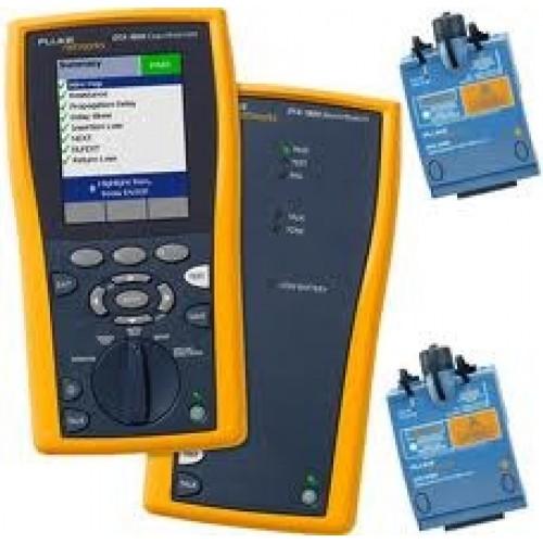 Комплект включает: DTX-1200 INTL, многомодовый модуль DTX-MFM2 (2шт,), одномодовый модуль DTX-SFM2 (