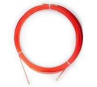 Устройство для протяжки кабеля мини УЗК в бухте, 40 м, диаметр прутка 3,5 мм УЗК-40