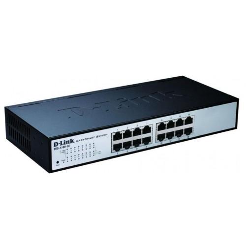 Управляемый компактный коммутатор EasySmart с 16-ю портами 10/100Base-TX