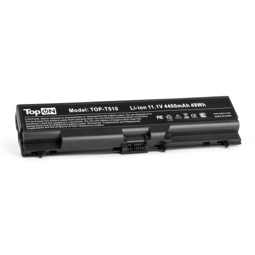 Аккумулятор для ноутбука Lenovo ThinkPad L410, T410, W510, E40, Edge 14, 15, E520 Series. 11.1V 4400mAh 49Wh. PN: 42T4235, 51J0499.