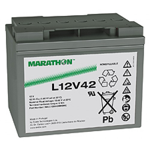 Аккумуляторная батарея Marathon XL12V50 (Marathon  L12V42)