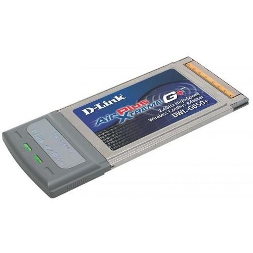 DWL-G650+ Адаптер беспроводной CardBus 802.11bg