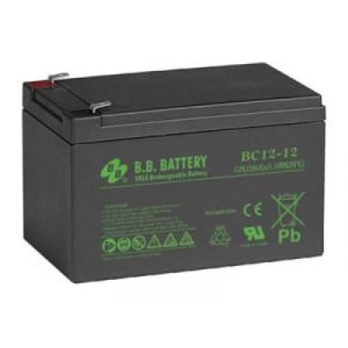 Аккумуляторная батарея B.B.Battery BC 12-12 (12V; 12Ah)