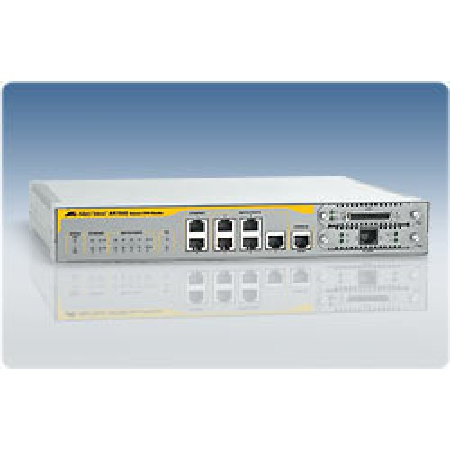 Маршрутизатор Secure VPN,7x10/100 LAN/WAN,1x Async,Single AC PSU