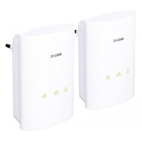 Комплект из 2-х PowerLine AV Ethernet-адаптеров DHP-306AV