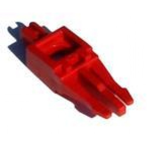 Размыкающий штекер для 1 пары , цвет красный