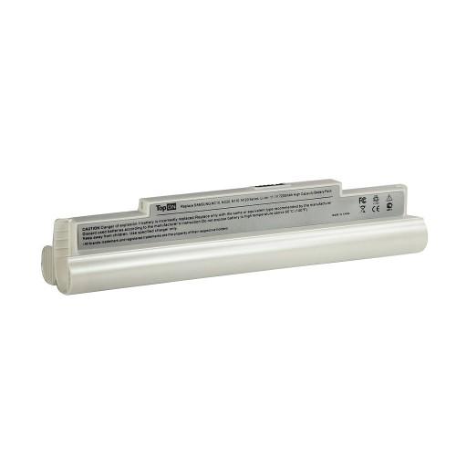 Аккумулятор для ноутбука Samsung NC10, NC20, N110 Series. 11.1V 7200mAh 80Wh, усиленный. PN: PL8NC6W, AA-PB8NC6B. Белый.
