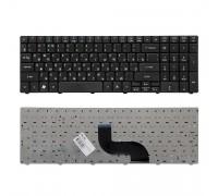Клавиатура для ноутбука Acer Aspire 5810T, 5410T, 5820TG, 5738, 5739, 5542, 5551, 5553G, 5741G Series. Плоский Enter. Черная, с рамкой. PN: NSK-AL10R.