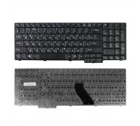 Клавиатура для ноутбука Acer Aspire 5335, 5535, 5735, 5737 TravelMate 5110, 7510 Series. Плоский Enter. Черная, без рамки. PN: NSK-AFC2R.