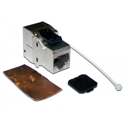 Вставка Keystone RJ-45, категория 6a, экранированная, 180 градусов, LANMASTER LAN-OK45S6A/180