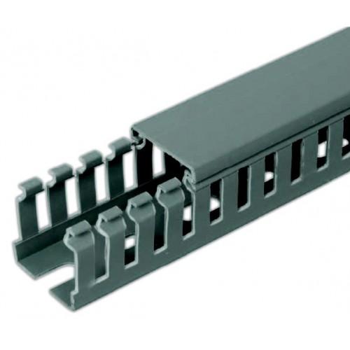 Перфорированный кабель-канал Transcab 25х25 мм