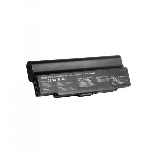 Аккумулятор для ноутбука Sony Vaio VGN-AR, VGN-CR, VGN-NR, VGN-SZ Series. 11.1V 6600mAh 87Wh, усиленный. PN: VGP-BPL9, BPS9.