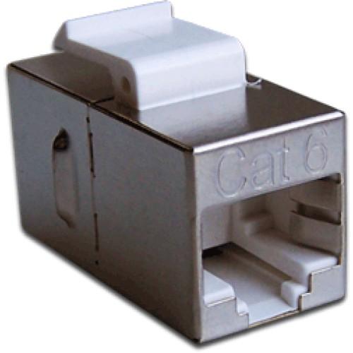 Повторитель портов RJ-45, экранированный, кат.6, формата Keystone LAN-KCP45S6