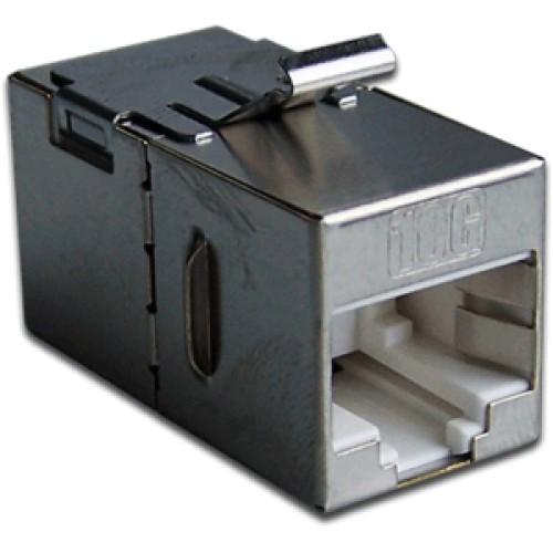 Повторитель портов RJ-45, экранированный, кат.6A, формата Keystone LAN-KCP45S6A