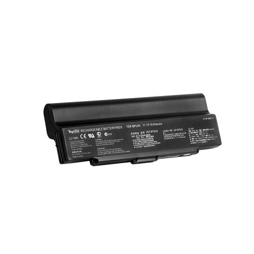 Аккумулятор для ноутбука Sony Vaio VGN-AR, VGN-CR, VGN-NR, VGN-SZ Series. 11.1V 10400mAh 115Wh, усиленный. PN: VGP-BPS9, VGP-BPS9B.