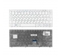 Клавиатура для ноутбука Acer 1810, 1830T, 721, 722, 751 Series. Плоский Enter. Белая, без рамки. PN: ZA3, ZA5, NSK-AQ00R, NSK-AQ10R.