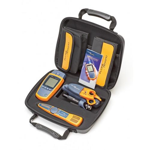 Комплект кабельного тестера MS2-TTK включает: MicroScanner2, прибор для проверки кабелей с адаптером