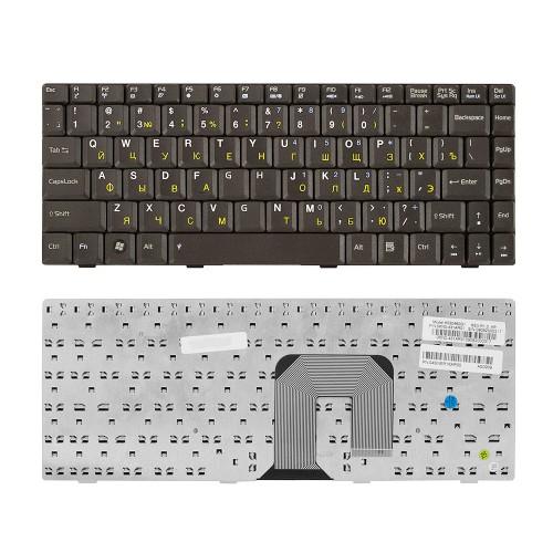 Клавиатура для ноутбука Asus F9, F9S, F9E, F9D, F6, F6V, U3, U6 Series. Плоский Enter. Черная, без рамки. PN: K022462AS1, MP-06833SU-528.