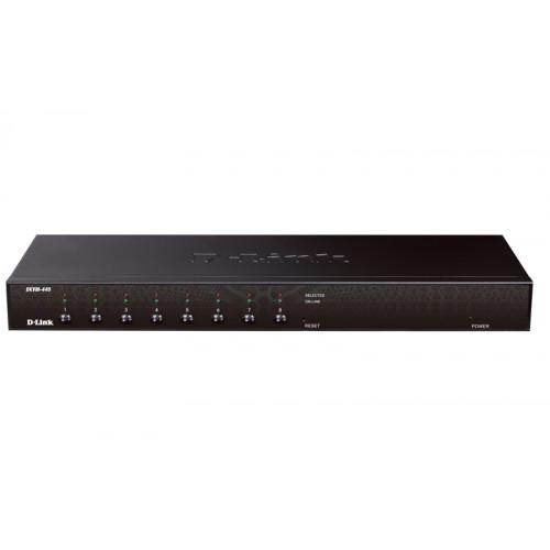 Переключатель 8-портовый KVM с портами PS2/USB