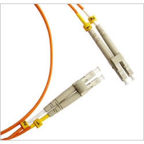Патч-корд оптический TWT, PVC, дуплексный, LC/PC-LC/PC, MM 50/125, 1.0 м