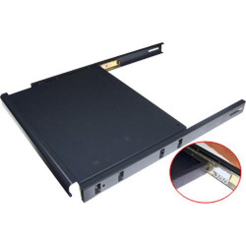 Полка для клавиатуры выдвижная 4 точки, для  шкафов глубиной 1200 мм,  20кг