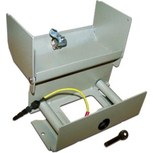 Коробка распределительная на 2 плинта (20 пар), телефонная, металлическая, с замком TWT-DB10-2P/KM