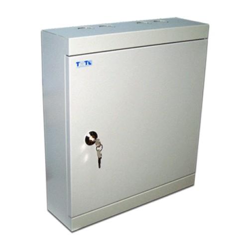 Коробка распределительная на 30 плинтов (300 пар), металлическая, с замком TWT-DB10-30P/KM