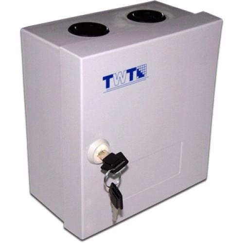 Коробка распределительная на 3 плинта (30 пар), упрощенная, с замком TWT-DB10-3P/L