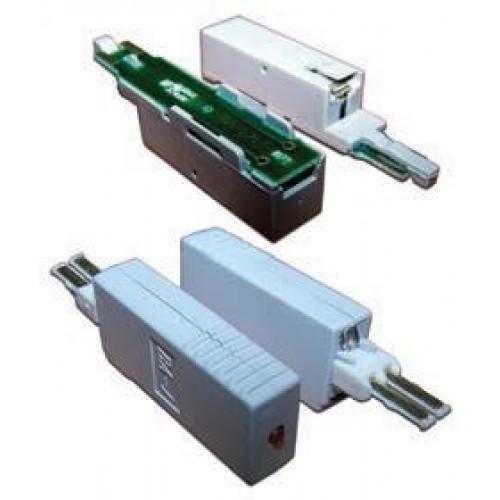 Штекер комплексной защиты для 1 пары, 260В, 10А/10Ка, TWT-SAU1-260-10-10K