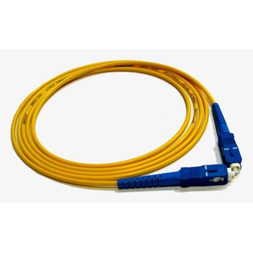 Патч-корд оптический TWT, симплексный, SC/UPC-SC/UPC, SM, 1.0 м