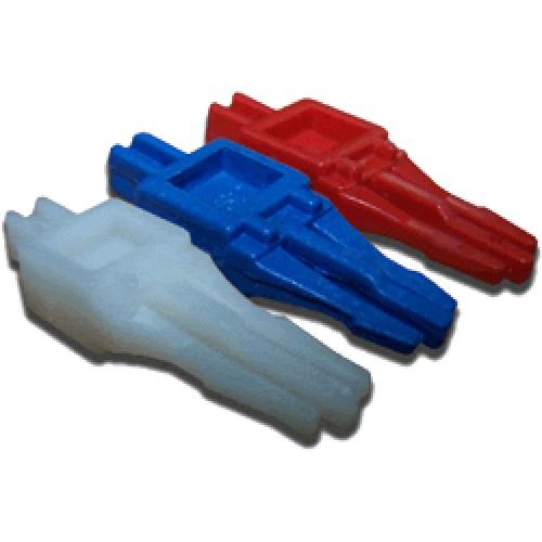 Размыкающий штекер, на 1 пару, синий TWT-LSA-DP1-BL