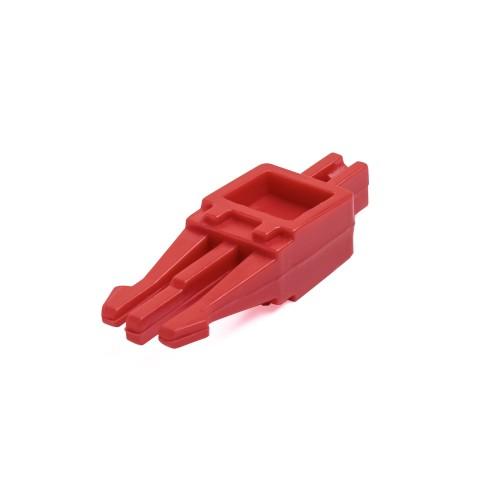 Размыкающий штекер, на 1 пару, красный TWT-LSA-DP1-RD