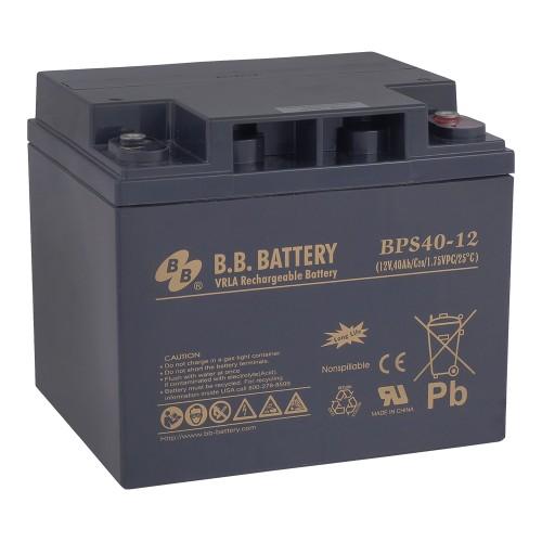 Аккумуляторная батарея В.В.Battery BPS 40-12 (12V; 40 Ah)