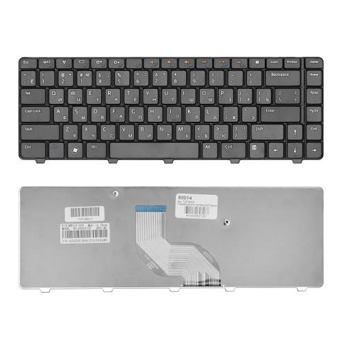 Клавиатура для ноутбука Dell Inspiron 14V, 14R, N4010, N4030, N4020, N3010 N5030 Series. Плоский Enter. Черная, без рамки. PN: NSK-DJH0R, 9Z.N1K82.D0.