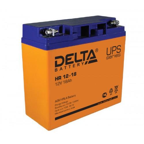 Аккумуляторная батарея Delta HR 12-18