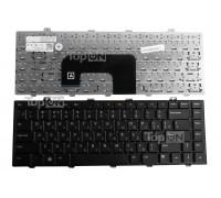 Клавиатура для ноутбука Dell Studio 14z, 1440, 1450 Series. Плоский Enter. Черная, без рамки. PN:NSK-DJC0R.