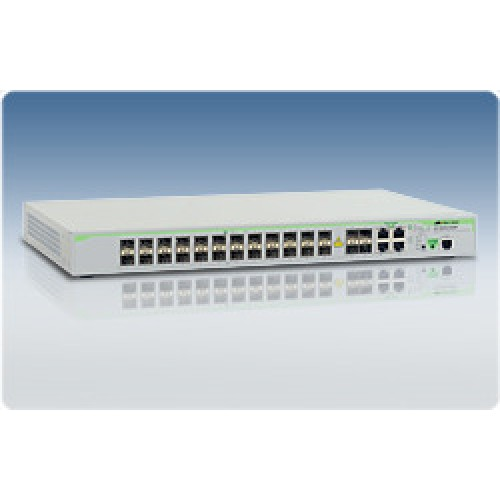 Коммутатор Layer 2 with 24-SFP fiber ports+4*10/100/1000T /SFP Combo