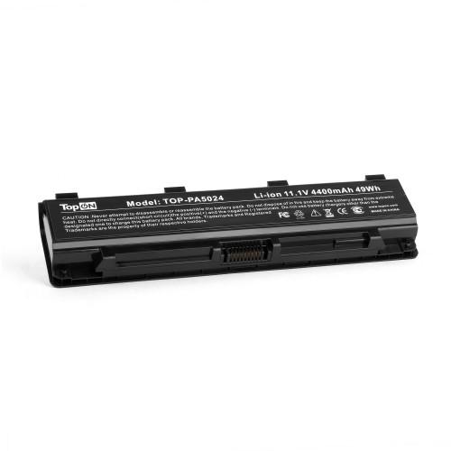 Аккумулятор для ноутбука Toshiba Satellite C50, C840, L875, M800, P800, S855 Series. 10.8V 4400mAh 48Wh. PN: PA5024U-1BRS, PA5023.