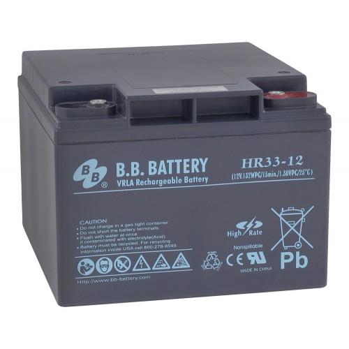 Аккумуляторная батарея B.B. Battery HRL  33-12 (12V;33Ah)