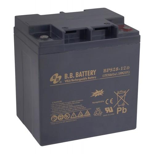 Аккумуляторная батарея В.В.Battery BPS 28-12D (12V; 28 Ah)