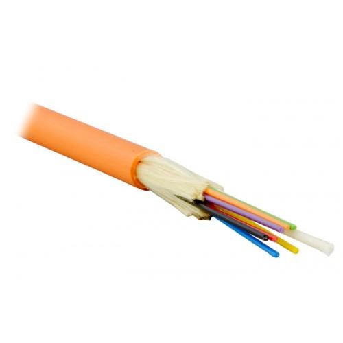 ВО кабель внутренний, Distribution, LSZH, 8 волокон,  MM, OM2, оранжевый