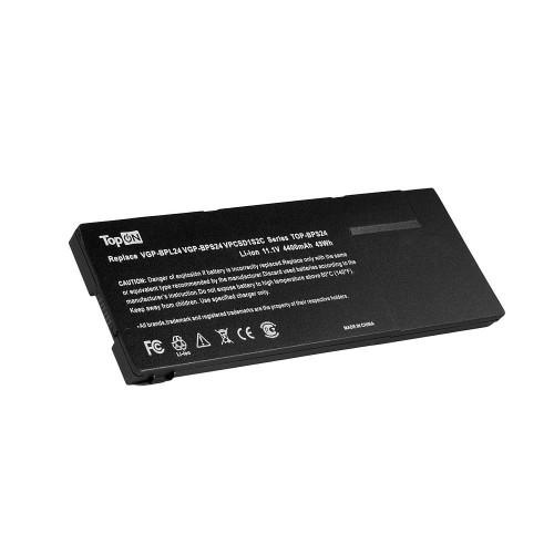 Аккумулятор для ноутбука Sony Vaio VPC-S, VPC-SA, VPC-SB, VPC-SD, VPC-SE Series. 11.1V 4400mAh 49Wh. PN: VGP-BPS24, VGP-BPL24.
