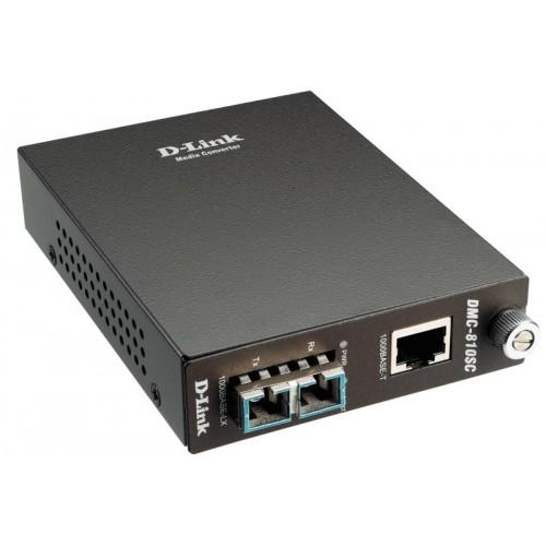 Конвертер 1000Base-T в 1000Base-LX sm (10km, SC)