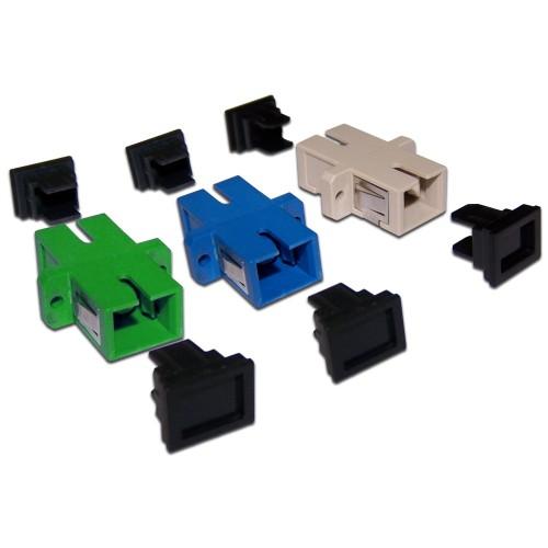 Адаптер оптический TWT SC/APC, SM, симплексный